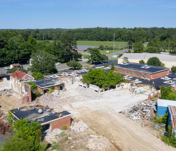 Northumberland High School Demolition